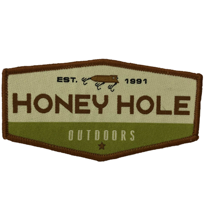 Honey Hole Fishing Patch