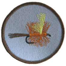 Fly Fishing Lure Patch