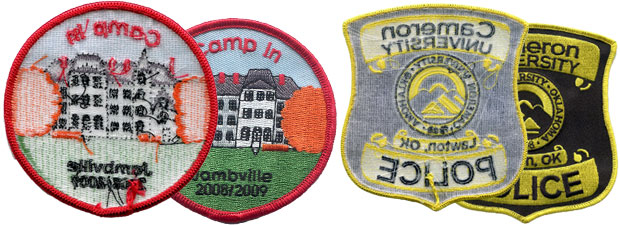 Custom Plastic Patches