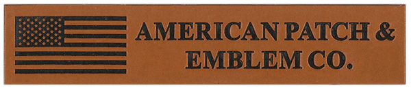 American Patch Leather Patch