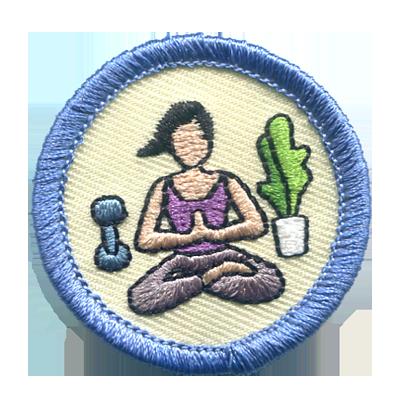 Fitness Merit Badges - Yoga