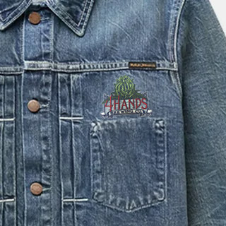 How to Put Patches on a Jacket