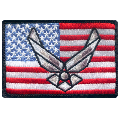 American Flag Air Force Patch