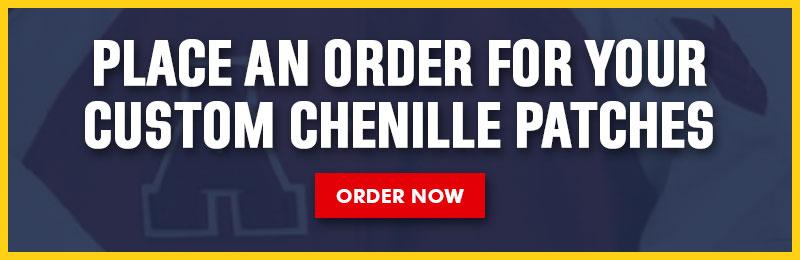 Custom Chenille Patches CTA