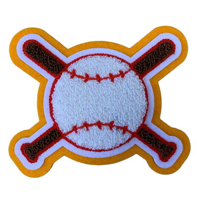 Custom Chenille Baseball Patches