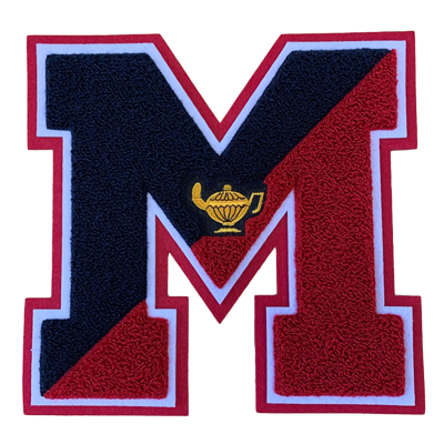 Custom Chenille Letterman Jacket Patches