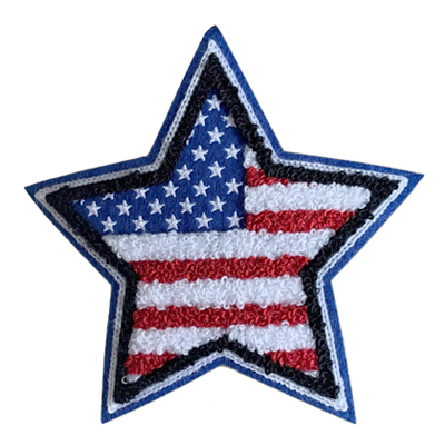 Custom Chenille Star Patches