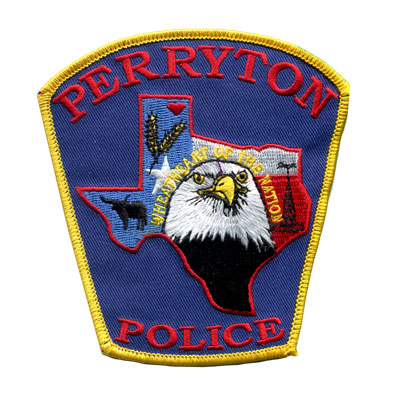 Custom Police Patches - Perryton