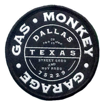 Woven Patch - Gas Monkey Garage