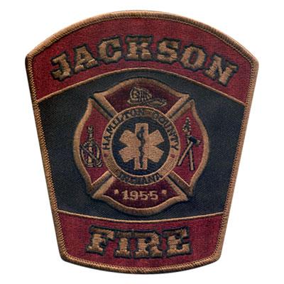 Jackson Custom Fire Department Patch