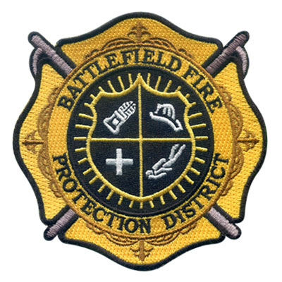 Battlefield Fire Protection District Patch