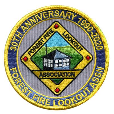 Forest Fire Lookout Association Patch