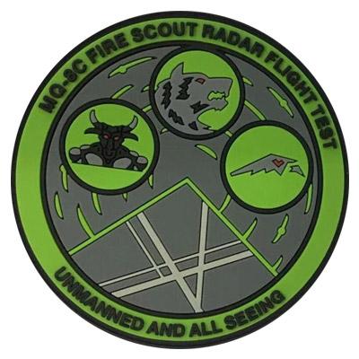 Fire Scout PVC Patch