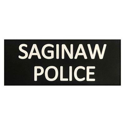Saginaw Police PVC Patch