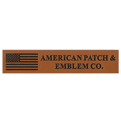 Leather Logo Patch
