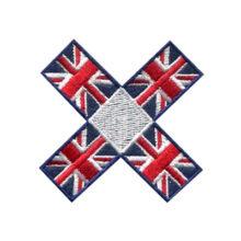 Flag Emblem Felt Patch