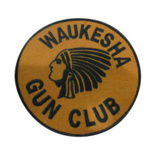 Waukesha Club Felt Patch