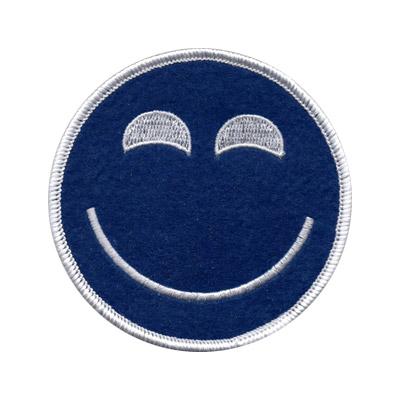 Smile Face Felt Patch
