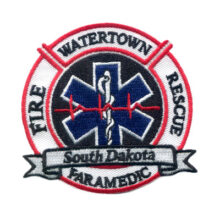 Watertown Fire Rescue Paramedic Patch
